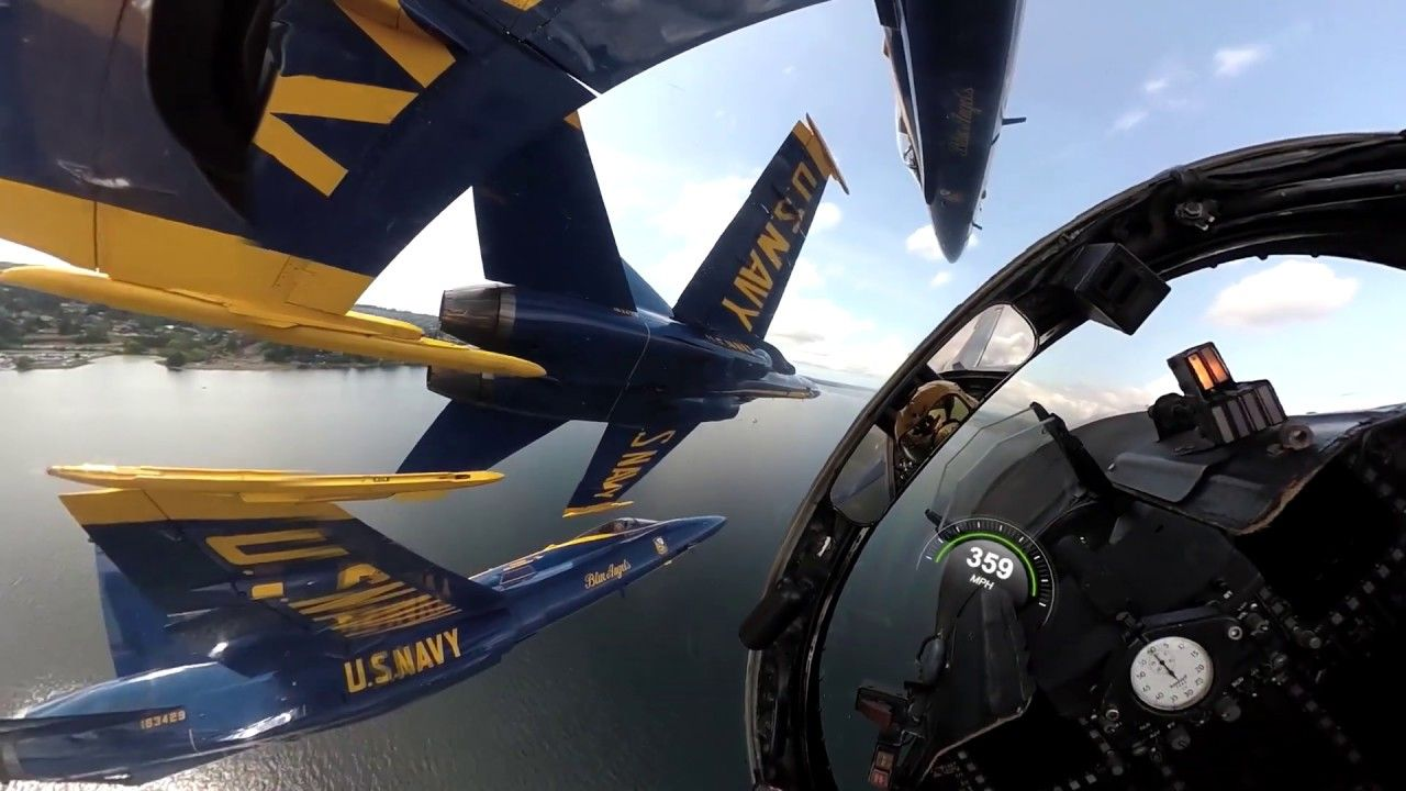 U.S. Navy Blue Angels = Trust and Precision by the