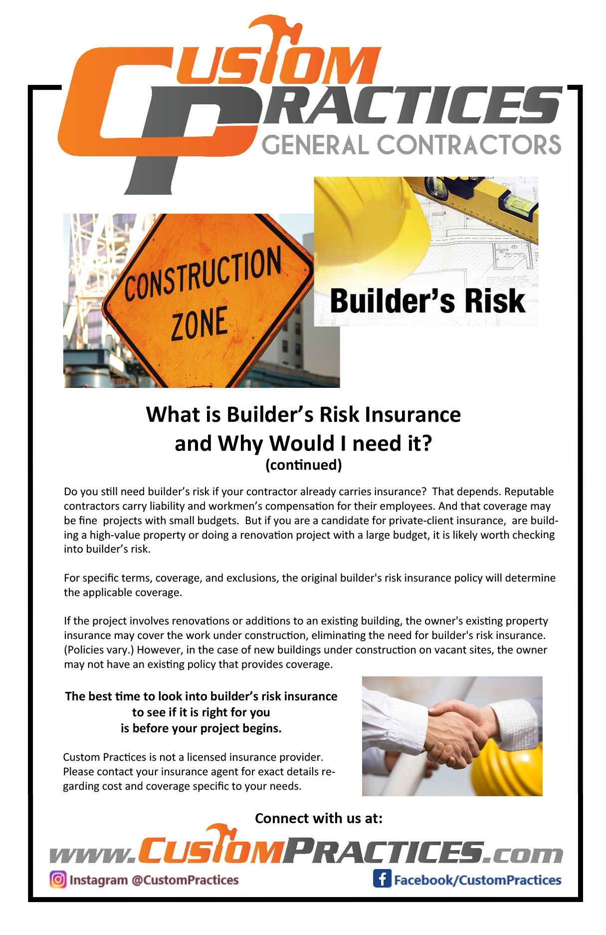 What Is Builder S Risk Insurance And Why Would I Want It Commercial Construction Contractors Medical Office