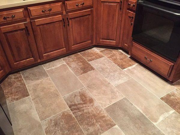 Kitchen Tile Floor Hudson Ohio | Harman Home Designs | Pinterest ...