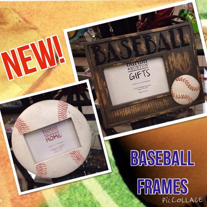 New baseball frames! Perfect for your little slugger!   Gifts Galore ...