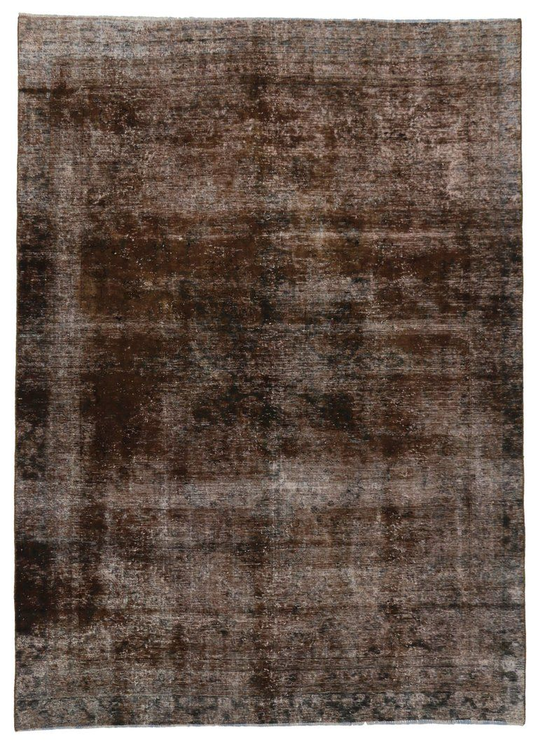 Distressed Antique Persian Overdyed Rug With Modern Rustic Industrial Style Modern Persian Rug Rugs Rugs On Carpet