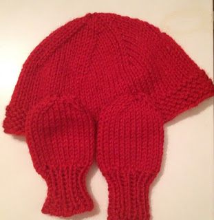 Free Pattern: Chunky Baby Mitts | Chunky babies, Baby ...