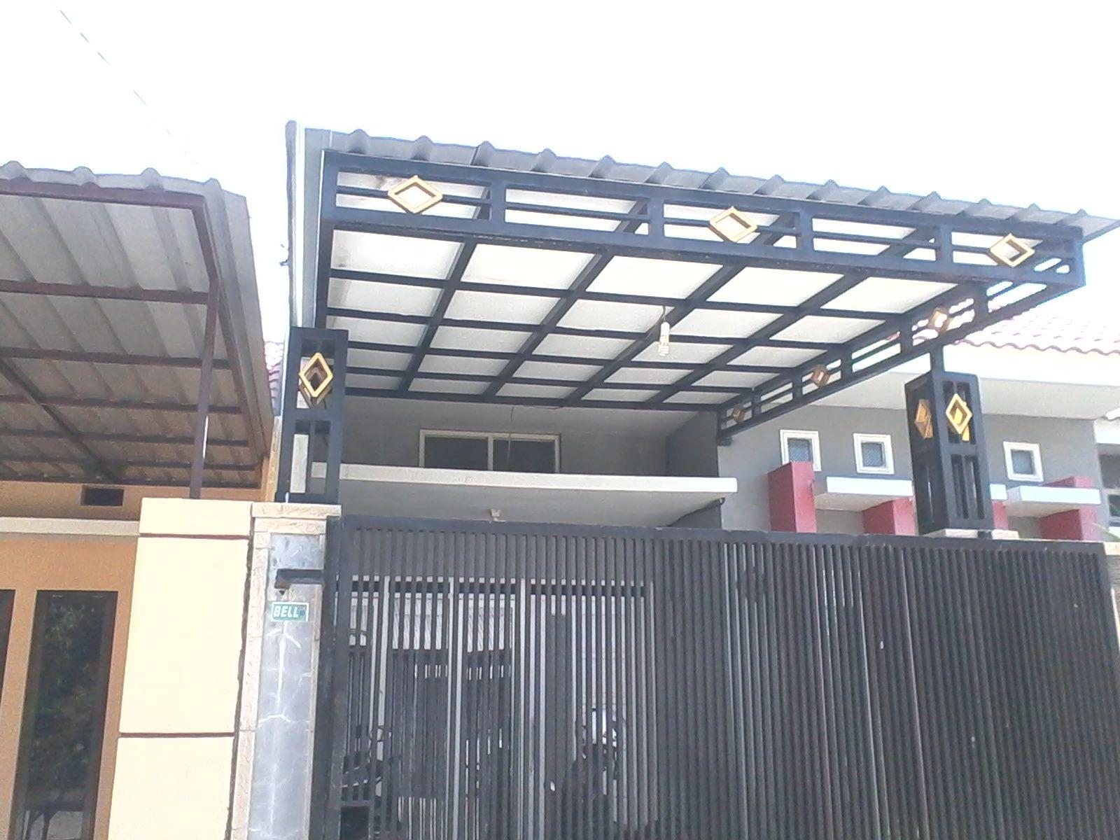 Kanopi Surabaya Besi Dengan Gambar Kanopi Rumah Teras Minimalis