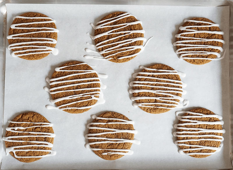 If Christmas had a taste, this cookie would be it! It's loaded with flavors like molasses, ginger, cinnamon, and cloves.The flavors alone make for a wonderful cookie but take this treat to another level by adding the world's most perfect glaze. Make room on your holiday cookielist because this cookie will soon be a seasonal...Read More »