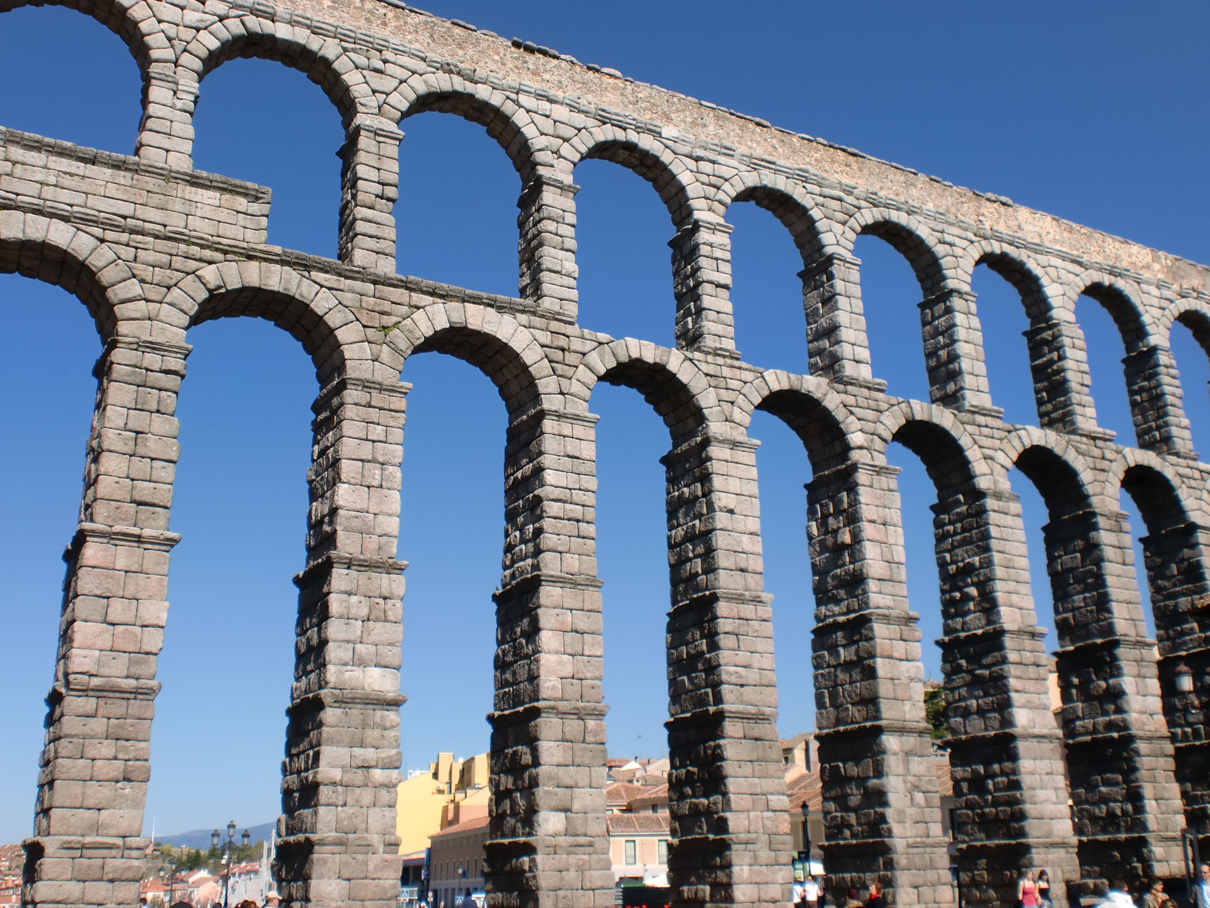 Acueducto de segovia arte romano s i ii d c grecia y roma romanos arte romano y - Acueducto de segovia arquitectura ...