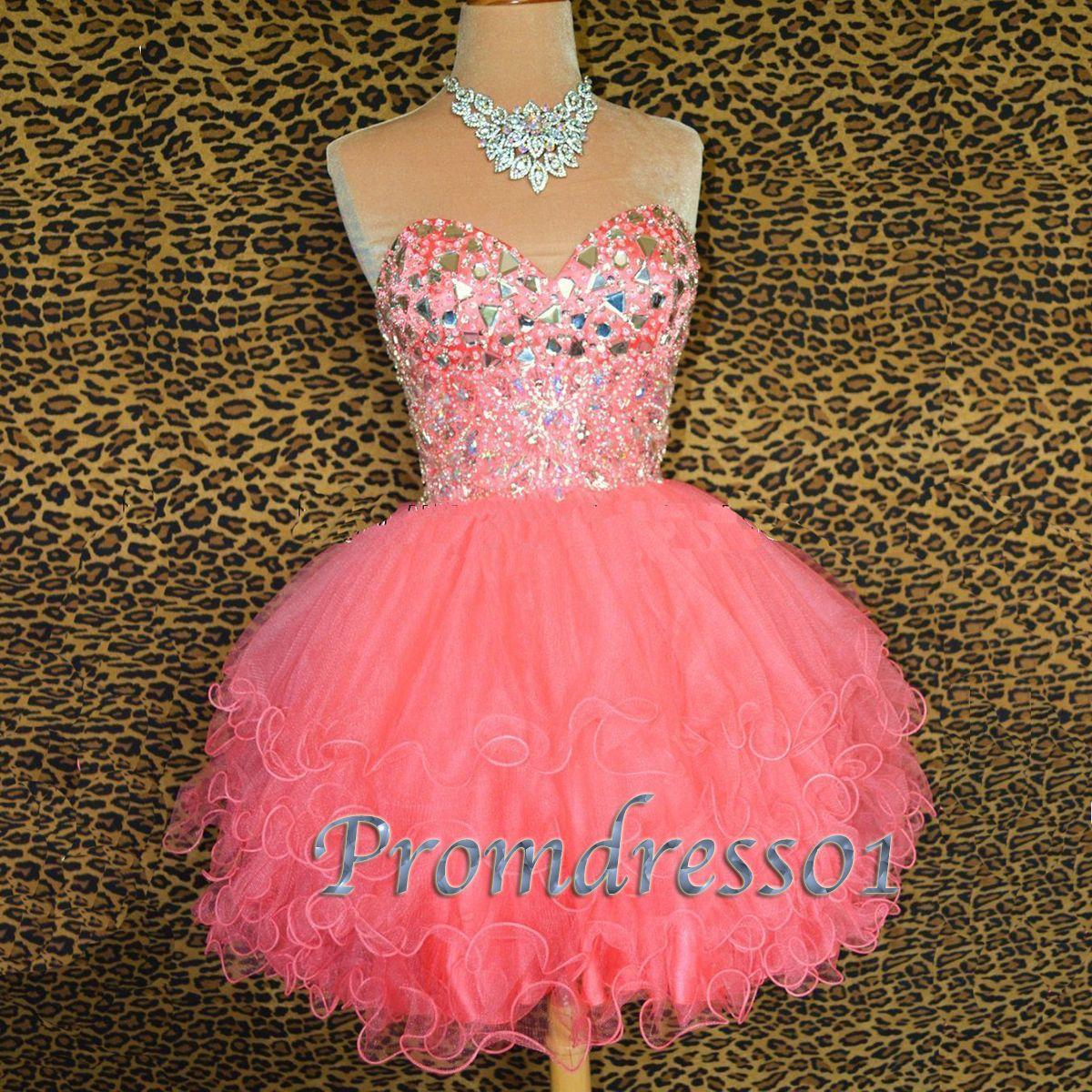 Sweetheart Pink Short Dress