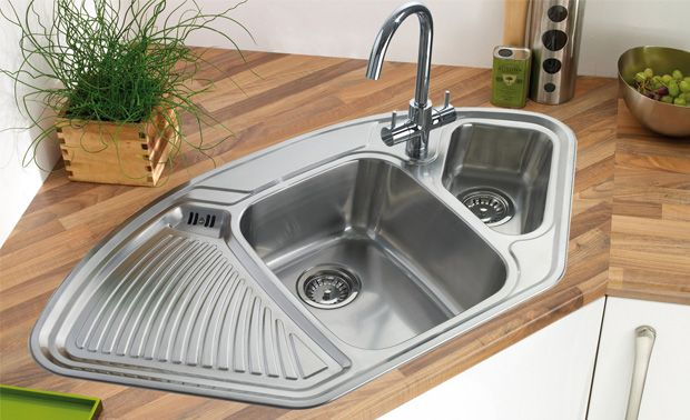 Kitchen Corner Sinks Rejig Home Design Corner Sink Kitchen Kitchen Sink Design Functional Kitchen Design