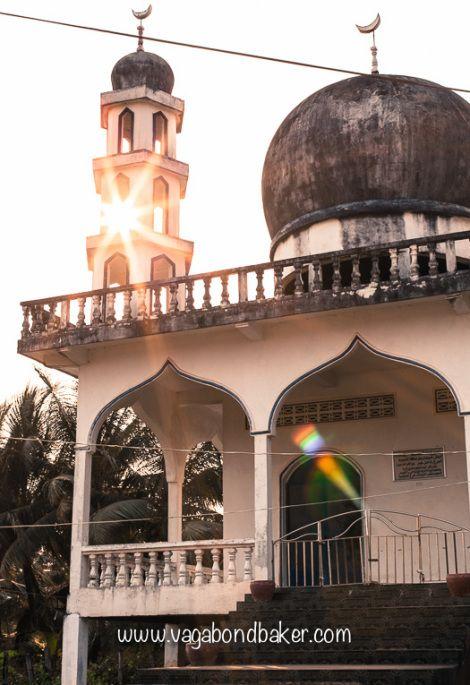 Kampot Cambodia Mosquee Cambodge Asie
