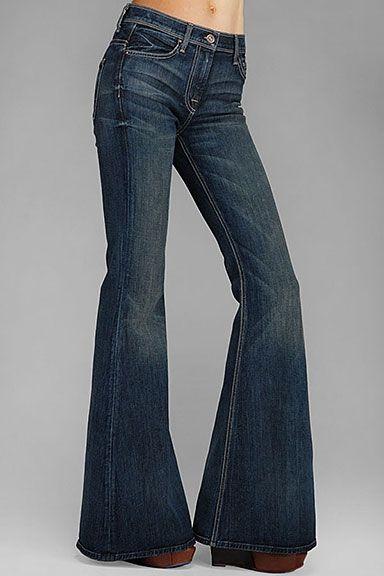 7 For All Mankind Femmes pantalons & Wide Leg Jeans de Bell Bottom ...