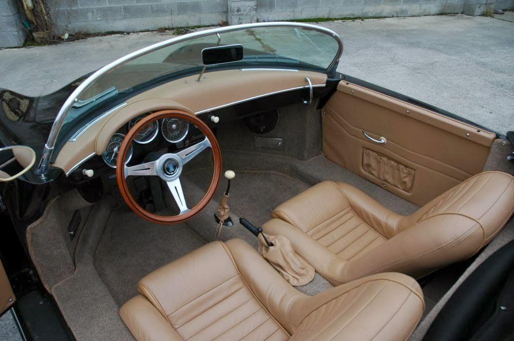 1957 Porsche 356 Speedster Cabin Interior