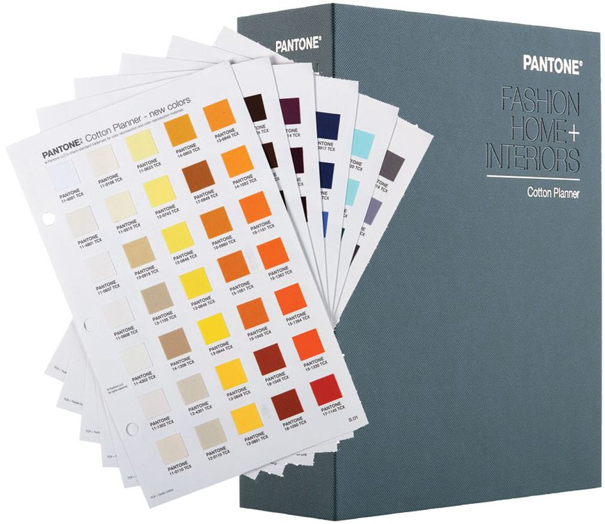 Pantone Tcx Cotton Planner Fhic300a Fashion Home Interiors 2020 Edition Pantone Color Book Pantone Pantone Tcx