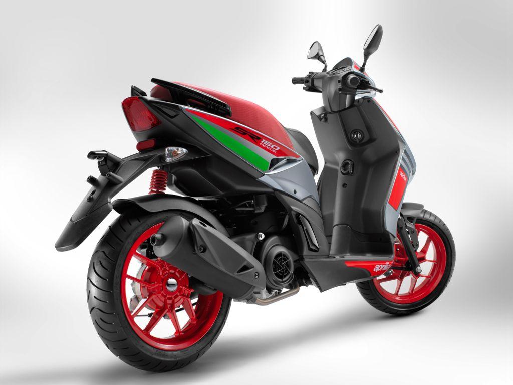 Aprilia Scootybike Sr 150 And Sr 150 Race Are Among The Most