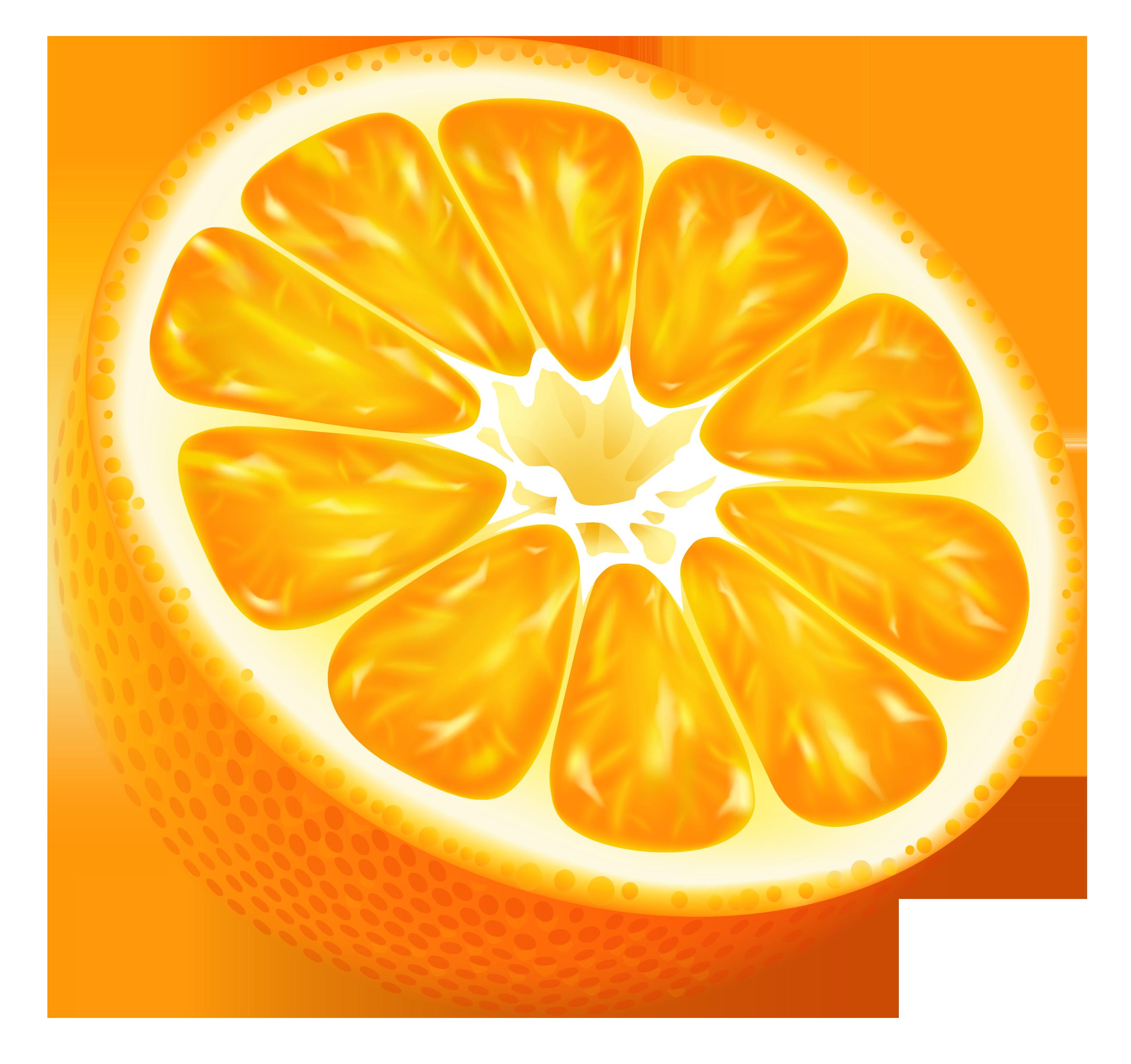 Half Orange Png Vector Clipart Image Frutas Imagens De Frutas Png