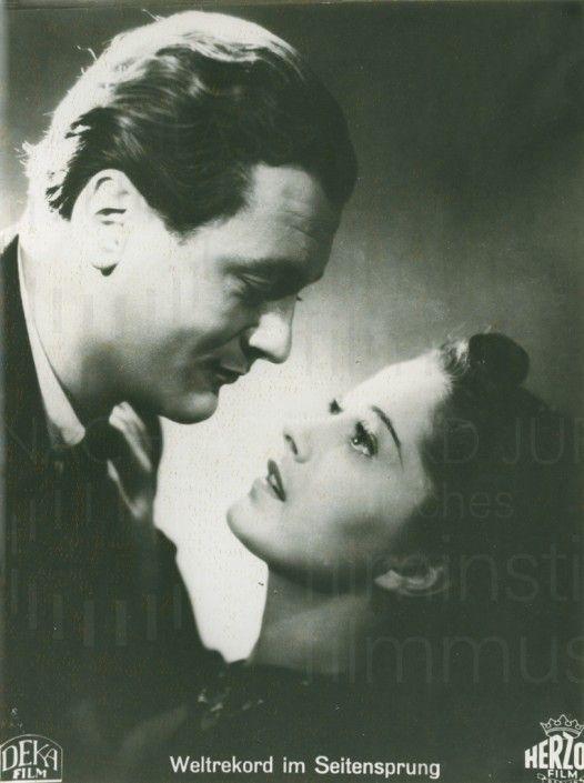 WELTREKORD IM SEITENSPRUNG (1940) Aushangfoto