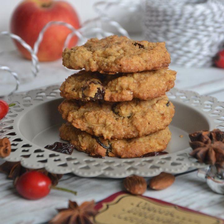 Vegane Bratapfel Cookies Kooperation Kolln Gebratene Apfel Rezepte Lecker Backen
