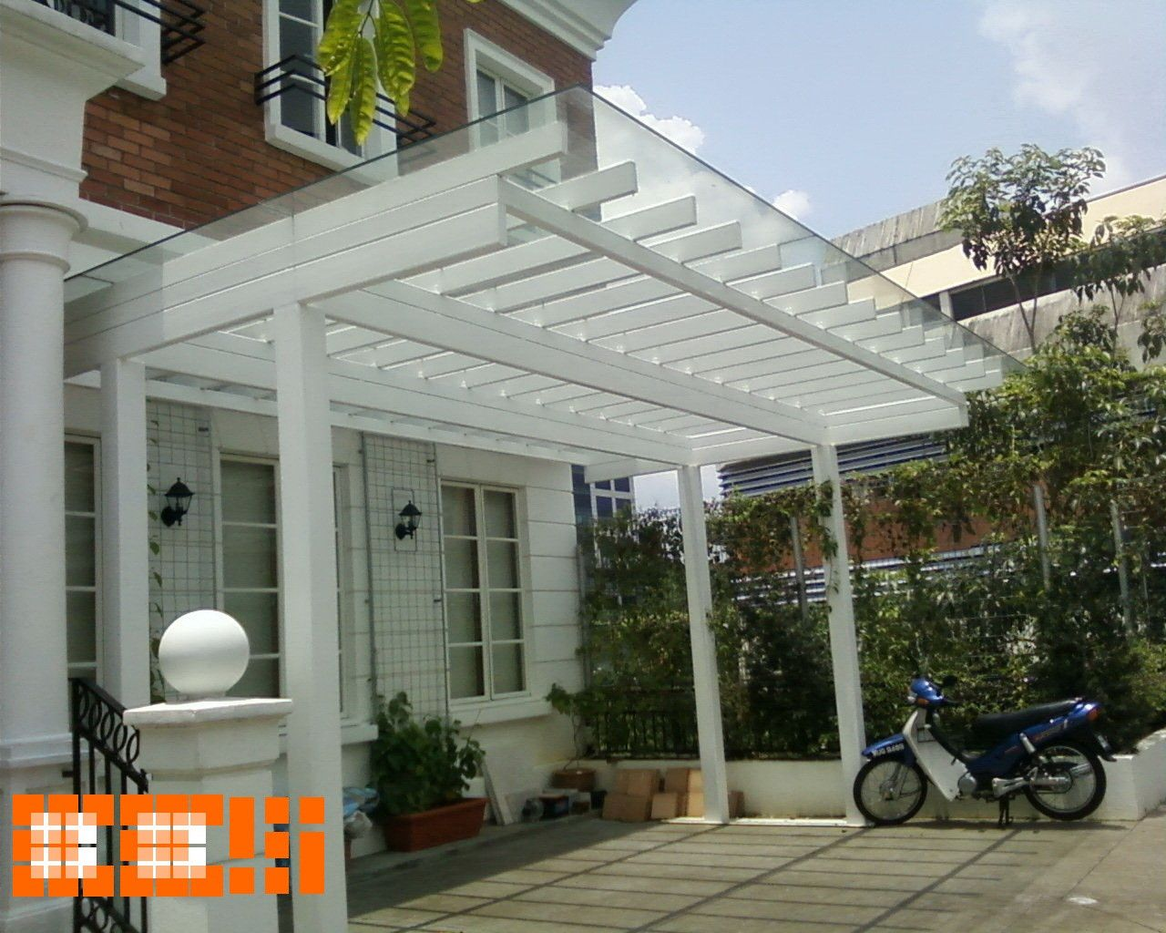 38 Images Of A Minimalist Home Canopy Model Kanopi Rumah Rumah