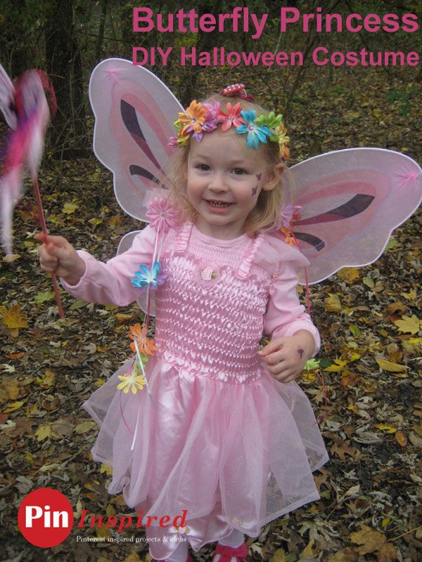 butterfly princess diy halloween costume for toddlers halloween butterflyprincess costumes - Halloween Princess Costumes For Toddlers