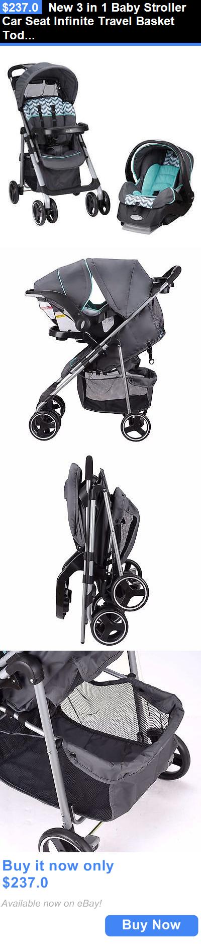 baby kid stuff New 3 In 1 Baby Stroller Car Seat Infinite