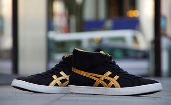 low priced 48e85 9dfea Asics Onitsuka tiger fabre high top sneakers black suede and ...
