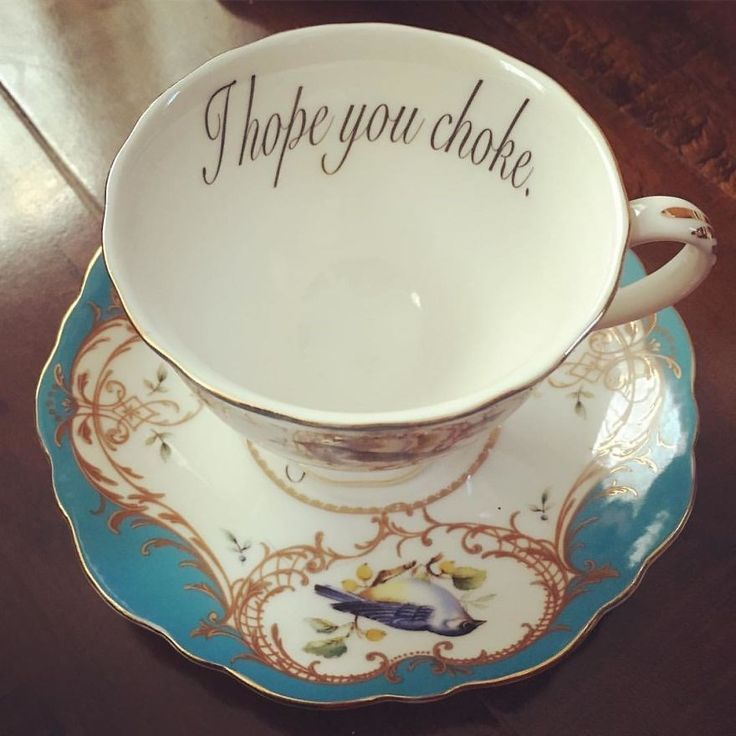 Serve Some Tea To Your Enemies In These Hilariously Offensive Tea Cups