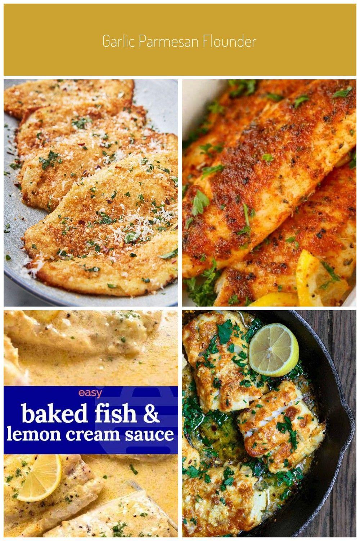 Say goodbye to boring white fish. Get the recipe at . recipes Garlic Parmesan Flounder