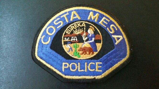 Costa Mesa Police Patch Orange County California Vintage 1983 Issue Police Police Patches Police Badge