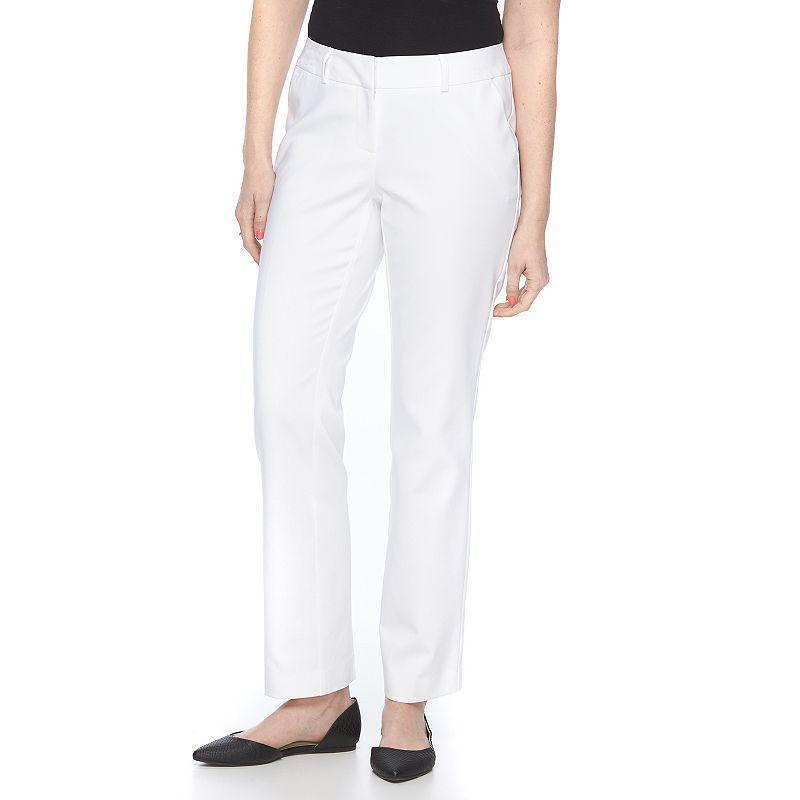 Petite Apt. 9® Torie Curvy Fit Dress Pants, Women's, Size: 16 ...