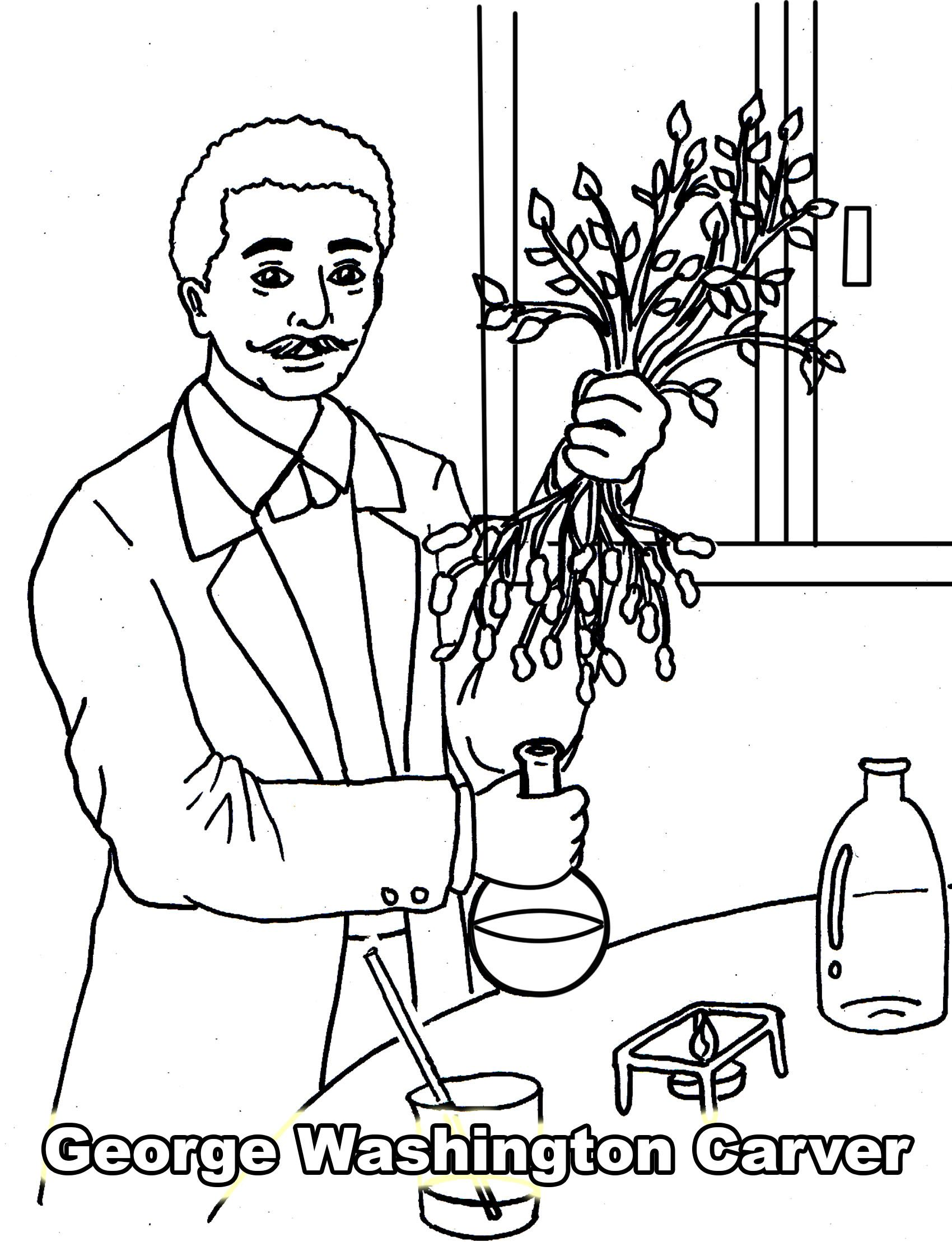 The African American Coloring Book Science Amp Technology