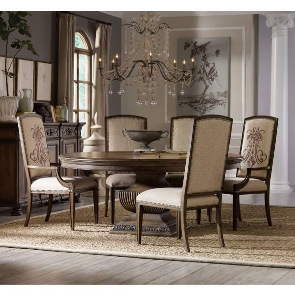 Rhapsody 60In Round Dining Table  Hooker Furniture  Star Alluring Dining Room Chairs San Antonio 2018