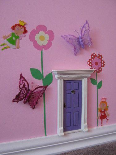 Seriously adorable Fairy Door | Baby Stuff | Pinterest | Fairy doors ...