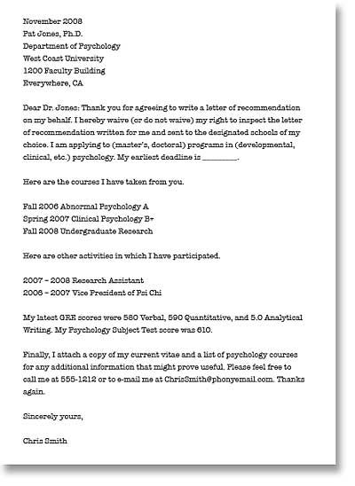 Recommendation Request Letter You Should Try To Get To Know The - Letter of recommendation request template