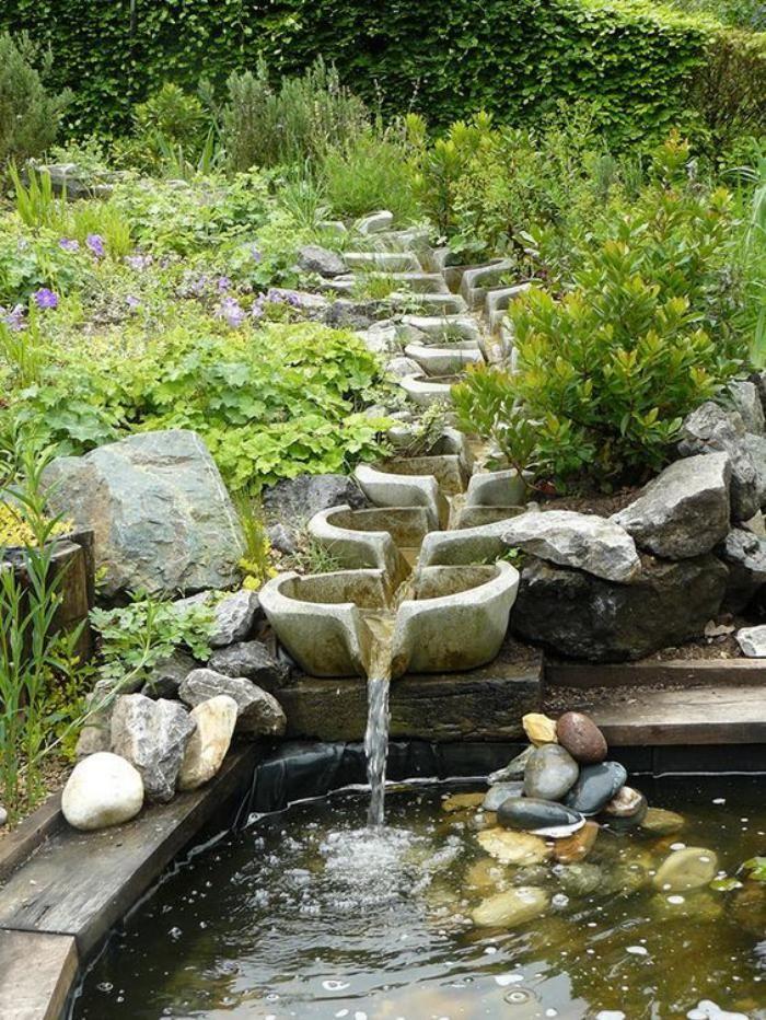 comment avoir un joli jardin en pente jolies ides en photos et conseils pour lamnagement archzinefr - Jardin En Pente Amenagement