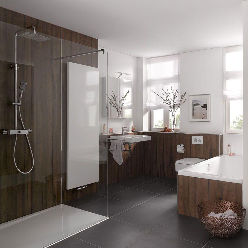 Designplatten RenoDeco von HSK Die perfekte Alternative für - alternative zu küchenfliesen