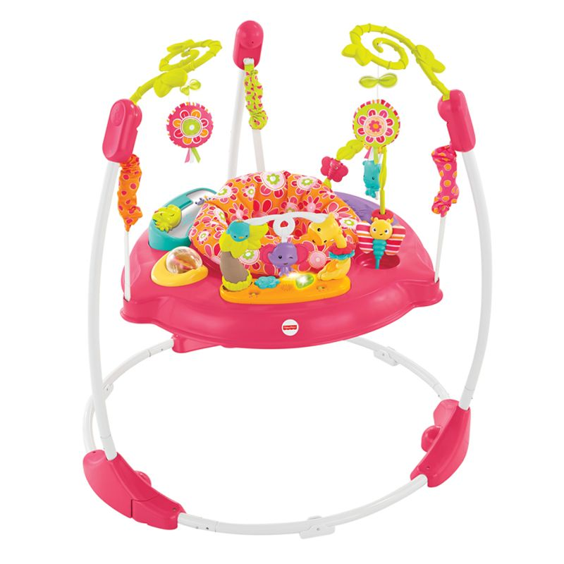 Fisher Price Trotteur fisher price trotteur jumperoo pétales roses de la musique, des