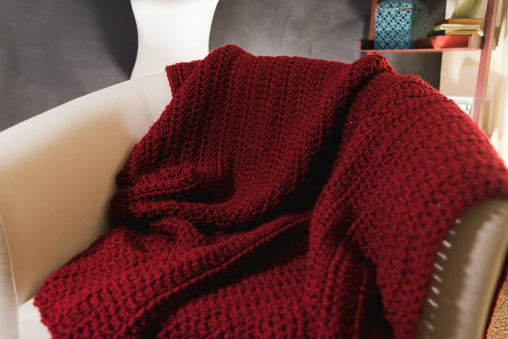 Quick and Easy Afghan Pattern | Afghans & blankets | Pinterest
