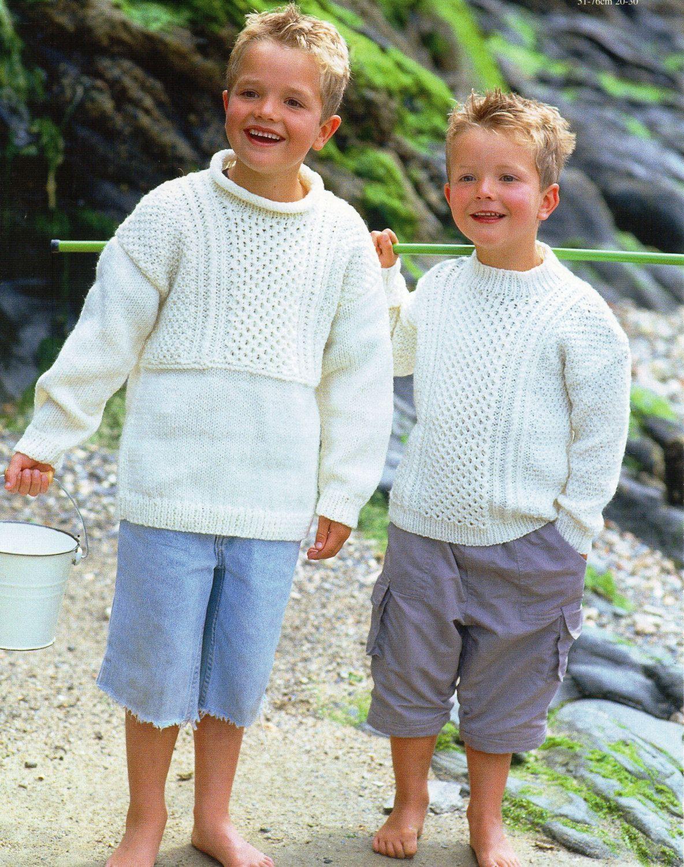 Childrens knitting pattern childrens aran sweaters baby aran childrens knitting pattern childrens aran sweaters baby aran sweaters 20 30inch aran yarn childs knitting pattern pdf instant download dt1010fo