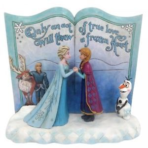 6.25 Enesco Frosty The Snowman Storybook Figurine