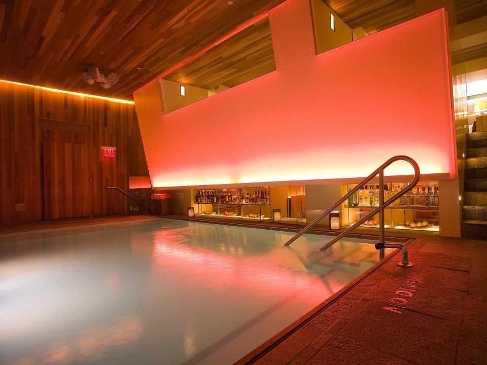 The Indoor Pool At Room Mate Grace Hotel In New York City Hosts A 1 000
