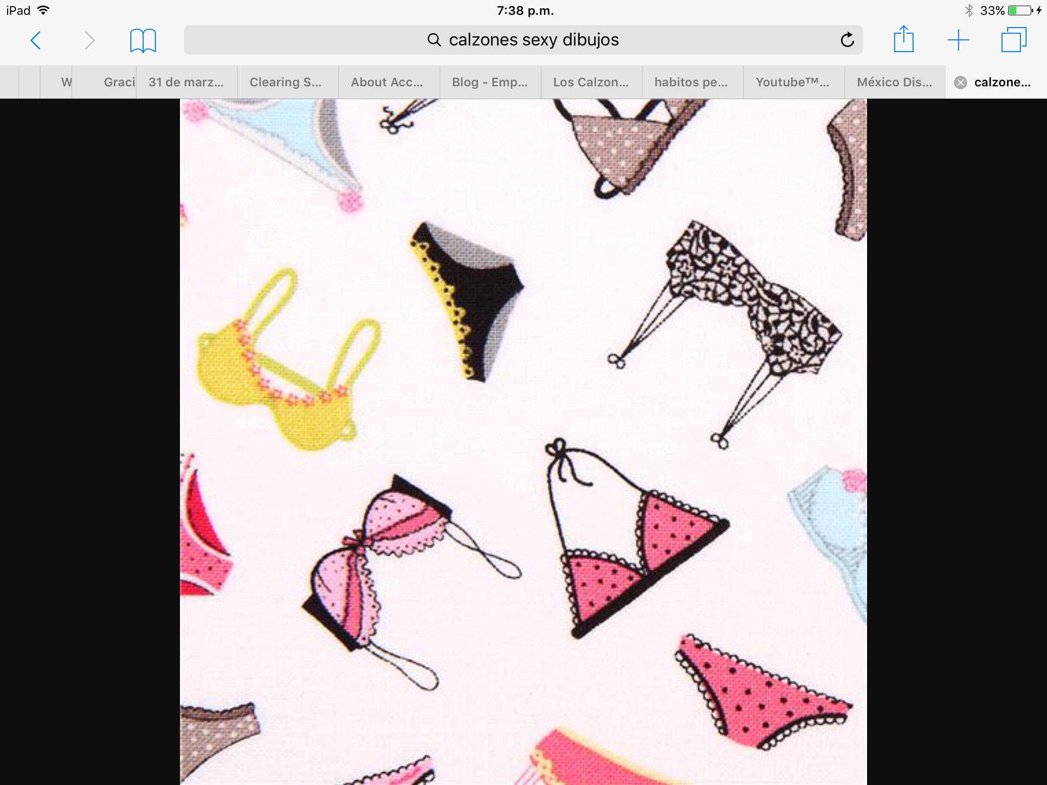 23103344f2 white underwear bra fabric Timeless Treasures Dress Up Diva - Retro Fabric  - Fabric