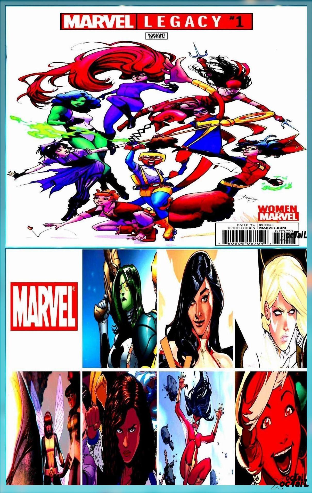 Details About Marvel Legacy 1 Reeder Women Of Marvel Variant Marvel Comics Elektra She Hulk Female Avengers Avengers Team Marvel Comics Art