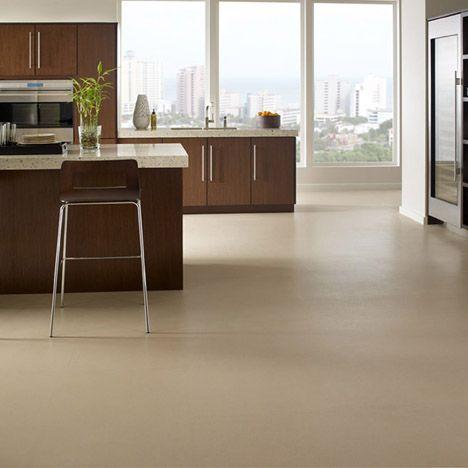 Kitchen Flooring Idea A Cork Rubber Hybrid Kitchen Flooring Rubber Flooring Rubber Flooring Basement