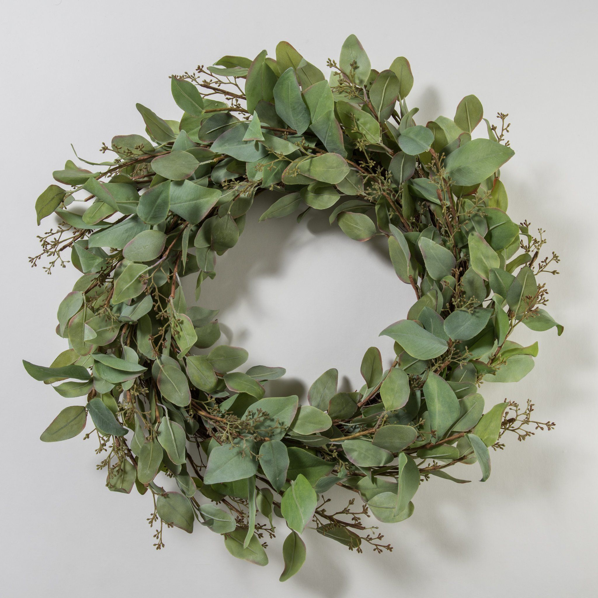 Eve Eucalyptus Wreath Eucalyptus Wreath Artificial Plants Small Artificial Plants