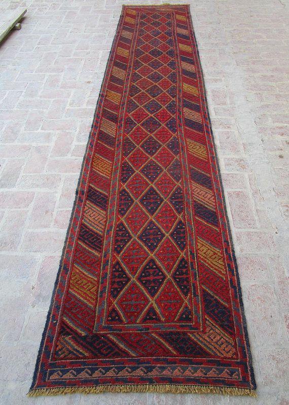 Size 12 9 X 2 8 Feet 389 82 Cm Geometric Hallway Rug