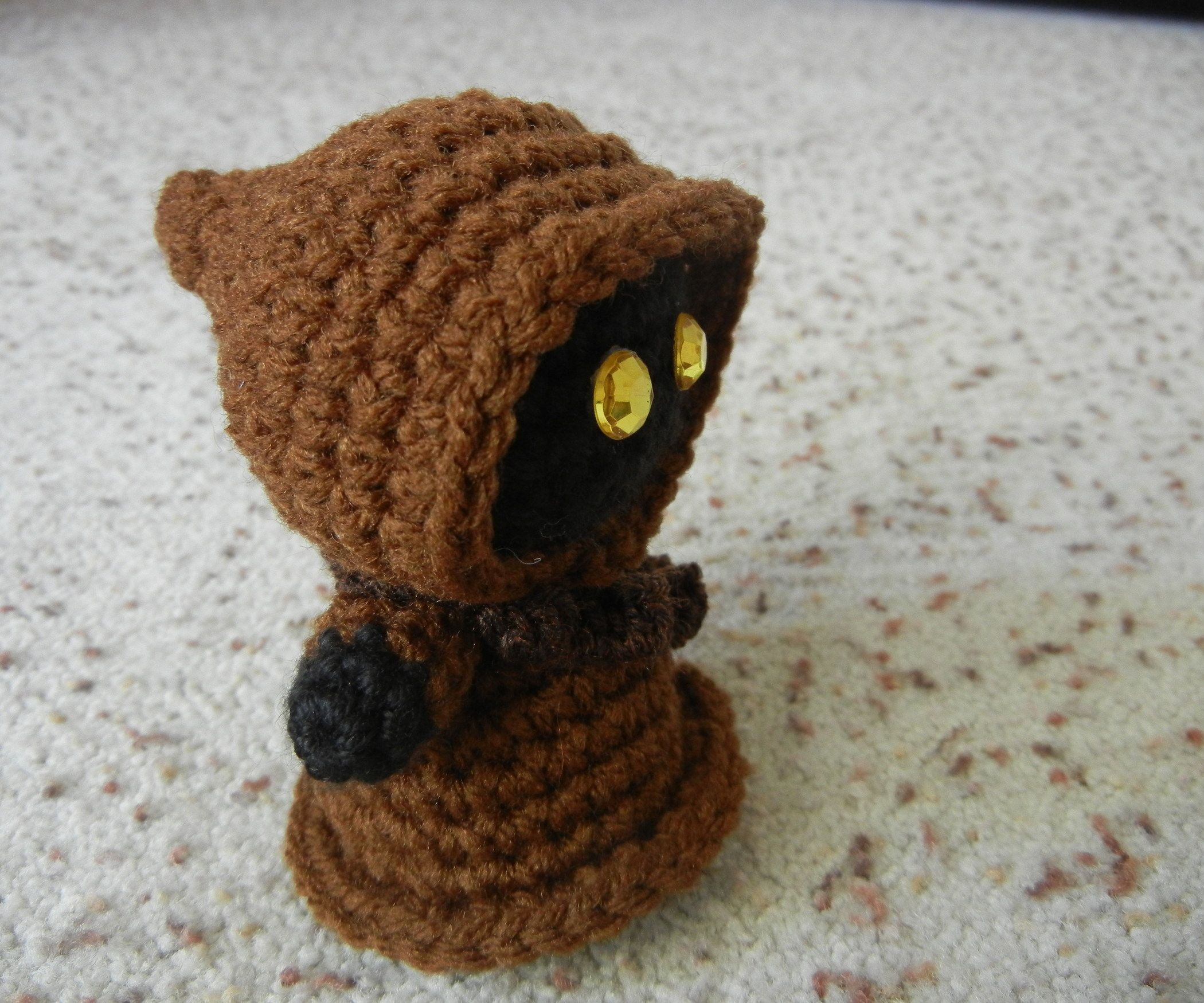 Star wars jawa amigurumi doll polymer clay polymers and crochet explore pictures of star wars star wars crochet and more bankloansurffo Images
