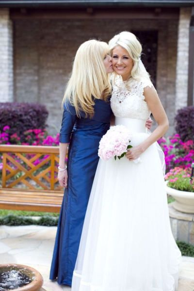 Lace wedding dress- love the style