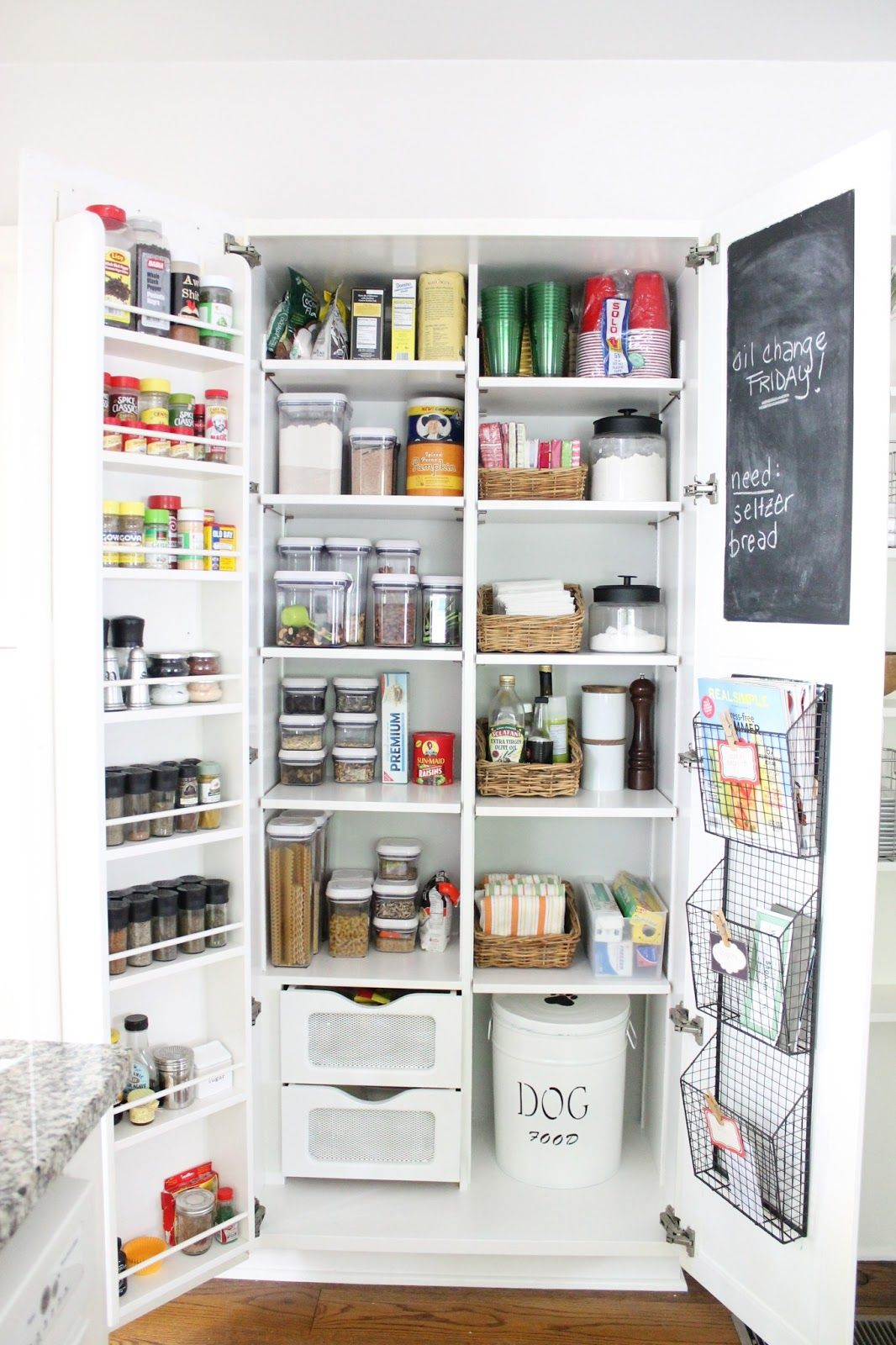 The pantry: so fresh and so clean clean | kitchens | Pinterest ...