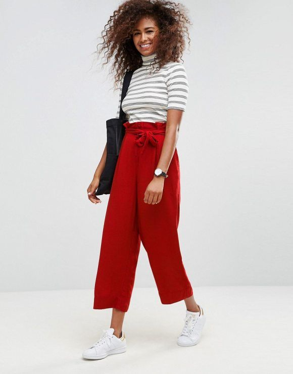 5fee446b59502 Paper-Bag Pants  21 Ways To Wear The Trend - FLARE