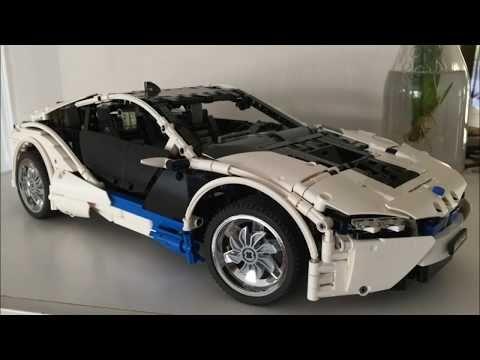 Lego Technic Bmw I8 Youtube Lego Autos Legos Und Carritos