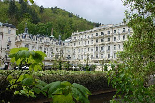 Grand Hotel Pupp; Karlovy Vary, Czech Republic