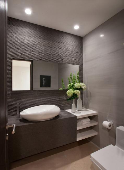 22 kleine Badezimmer-Design-Ideen, die Funktionalität und Art mischen - Neueste Dekor